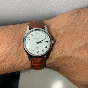 1960s Cavarelle By Bulova Mechanical Watch
